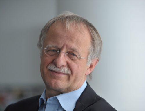 Hans Leyendecker Laudator für Dunja Hayali